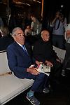 """MARIO D'URSO CON RAFFAELE LA CAPRIA<br /> PRESENTAZIONE LIBRO """"RACCONTI"""" DI ALAIN ELKANN HOTEL MAJESTIC ROMA 2014"""