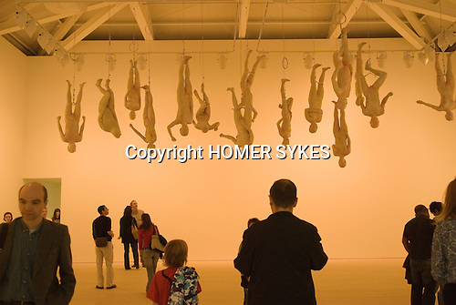 The Saatchi Gallery. The Duke of York Headquarters, Chelsea, London UK 2008. The Revolution Continues: New Art from China. Chinese Offspring by Zhang Dali.
