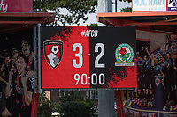 Final score<br /> <br /> Photographer David Horton/CameraSport <br /> <br /> The EFL Sky Bet Championship - Bournemouth v Blackburn Rovers - Saturday September 12th 2020 - Vitality Stadium - Bournemouth<br /> <br /> World Copyright © 2020 CameraSport. All rights reserved. 43 Linden Ave. Countesthorpe. Leicester. England. LE8 5PG - Tel: +44 (0) 116 277 4147 - admin@camerasport.com - www.camerasport.com