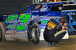Sep 12, 2010; 12:11:20 AM; Rossburg, OH., USA; The 40th annual running of the World 100 Dirt Late Models racing for the Globe trophy at the Eldora Speedway.  Mandatory Credit: (thesportswire.net)