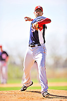 1 March 2010: Washington Nationals' starting pitcher Luis Atilano on the mound during Spring Training at the Carl Barger Baseball Complex in Viera, Florida. Mandatory Credit: Ed Wolfstein Photo