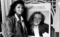 File photo circa september  1985 - Martine Chevrier album launch