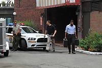 FILE PHOTO -  UPAC anti corruption squad in action July 30, 2015.<br /> <br /> They raided (Mr 3%) Bernard Trepanier.<br /> <br /> PHOTO : Pierre Roussel - Agence Quebec Presse