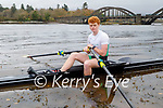 Tom Kelly from Tousist who's a member of the Kenmare Rowing Club won silver at the Irish European Junior Rowing championships.