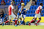 St Johnstone v Fleetwood Town…24.07.21  McDiarmid Park<br />David Wotherspoon shoots over the bar<br />Picture by Graeme Hart.<br />Copyright Perthshire Picture Agency<br />Tel: 01738 623350  Mobile: 07990 594431