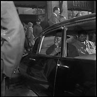 Gare Matabiau. 26 Février 1963. Vue de Moïse Tshombe, homme politique congolais,