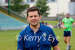 Tomas Moloney, St. Brendans manager , before the County Senior hurling Semi-Final between St. Brendans and Causeway at Austin Stack park on Sunday.