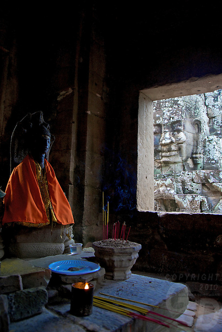 Bayon Temple Cambodia, Siem Reap