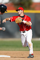 Todd Shelton of the Cal State Northridge Matadors during a game against the Oklahoma State Cowboys at Matador Field on February 23, 2007 in Northridge, California. (Larry Goren/Four Seam Images)