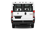 Straight rear view of a 2015 Ram Promaster 1500 136 Wb Low Roof 4 Door Passenger Van 2WD Rear View  stock images
