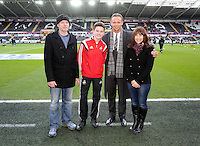 Swansea, UK Saturday 17 January 2015<br /> Lee Trundle<br /> Barclays Premier League, Swansea City FC v Chelsea at the Liberty Stadium, south Wales, UK