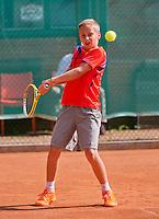 August 4, 2014, Netherlands, Dordrecht, TC Dash 35, Tennis, National Junior Championships, NJK,  Kas Roosch (NED)<br /> Photo: Tennisimages/Henk Koster