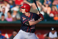Peoria Chiefs catcher Adam Ehrlich (35) at bat during a game against the Lansing Lugnuts on June 6, 2015 at Cooley Law School Stadium in Lansing, Michigan.  Lansing defeated Peoria 6-2.  (Mike Janes/Four Seam Images)