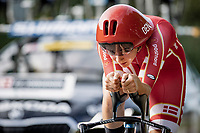 Emma Norsgaard (DEN/Movistar)<br /> <br /> 88th UCI Road World Championships 2021 – ITT (WC)<br /> Women Elite Time trial from Knokke-Heist to Brugge (30.3km)<br /> <br /> ©Kramon