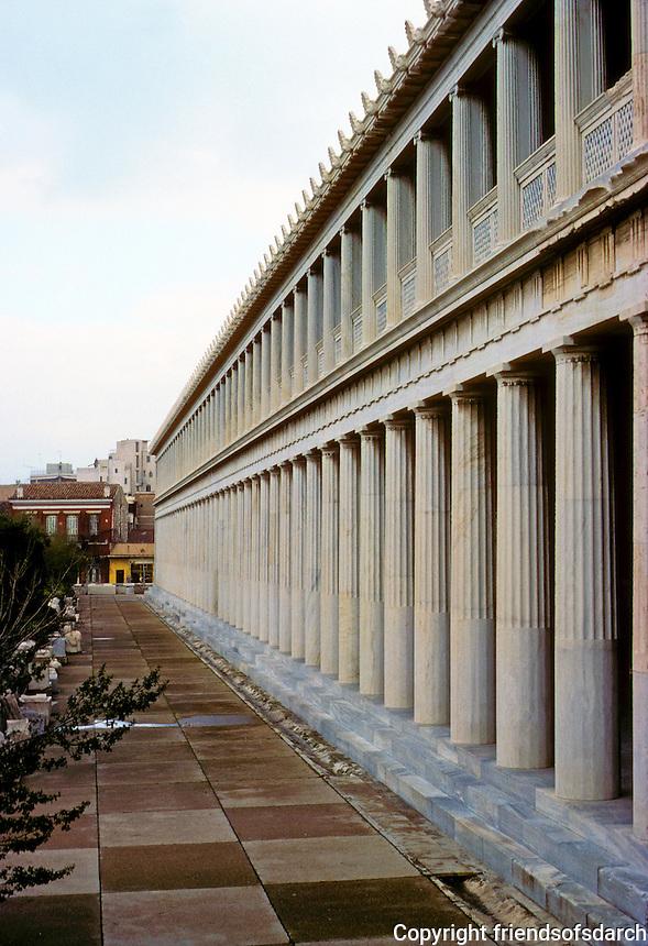 Athens: Stor of Attalus, 160-138 B.C.  Photo '82.
