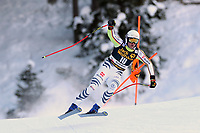 19th December 2020; Saslong, Val Gardena, Tyrol, Italy; International Ski Federation Alpine Ski World Cup, 2nd Men's Downhill, Val Gardena; Romed Baumann (GER)