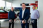 Finbarr McCann, David Randles, Managing director and Ciaran Flanagan at Randles brothers, Nissan dealers in Tralee.