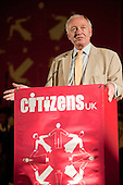 """Ken Livingstone addresses a """"Day for Civil Society"""" organized by Citizens UK / London Citizens to celebrate 10 years of the Living Wage Campaign, launch a National Living Wage Foundation and call for the living wage to be adopted nationally.  Central Hall, Westminster."""
