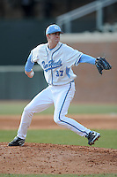 Chris Munnelly (Third Baseman) North Carolina Tar Heels (Photo by Tony Farlow/Four Seam Images)