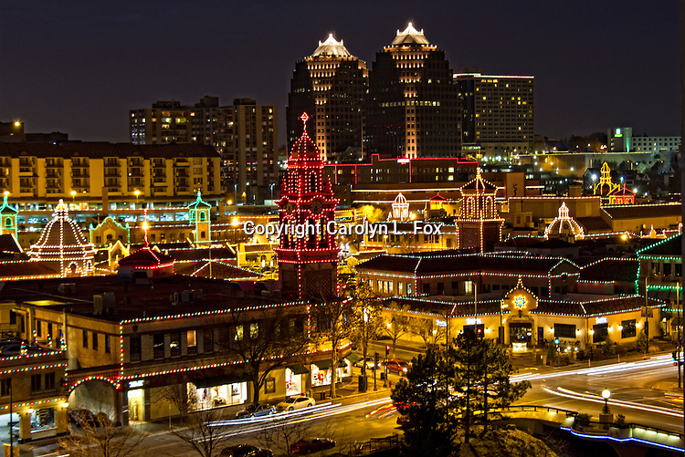 It's Christmas time at the Country Club Plaza in Kansas City, Missouri.