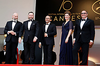 NELYUBOV , RUSSI EN COMPETITION , TOUTE L'EQUIPE DU FILM - RED CARPET OF THE FILM 'LOVELESS (NELYUBOV)' AT THE 70TH FESTIVAL OF CANNES 2017