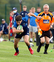 Saturday 4th September 20218 <br /> <br /> Tom Hodgkinson during U18 Clubs inter-pro between Ulster Rugby and Leinster at Newforge Country Club, Belfast, Northern Ireland. Photo by John Dickson/Dicksondigital
