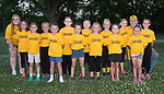 June 12, 2017- Tuscola, IL- The 2017 Tuscola First Federal Bank softball team. Back row from left are coach Mara Filicsky, Kylie Mann, Alydia Long, Christy Kerner, Casi Filicsky, Bella Wishard, Isabella Dueker, coach Chris Filicsky and Sophie Mast. Front row from left are Lily Dudzinski, Jaydon Stovall, Kyndra Hollenbeck, Lily Yantis, Ava Kleiss, and Lexi Greenstone. [Photo: Douglas Cottle]