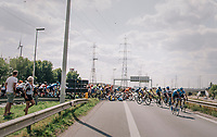 """hairpin crash<br /> <br /> Antwerp Port Epic 2018 (formerly """"Schaal Sels"""")<br /> One Day Race:  Antwerp > Antwerp (207 km; of which 32km are cobbles & 30km is gravel/off-road!)"""