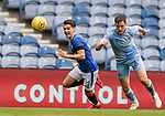 25.07.2020 Rangers v Coventry City: Ianis Hagi laughs as he breaks past his man on the wing