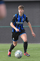 Isabelle Iliano (18) of Club Brugge  pictured during a female soccer game between Club Brugge Dames YLA and Oud Heverlee Leuven on the first matchday in Play-Off 1 of the 2020 - 2021 season of Belgian Scooore Womens Super League , saturday 3 th April 2021  in Brugge , Belgium . PHOTO SPORTPIX.BE | SPP | DIRK VUYLSTEKE