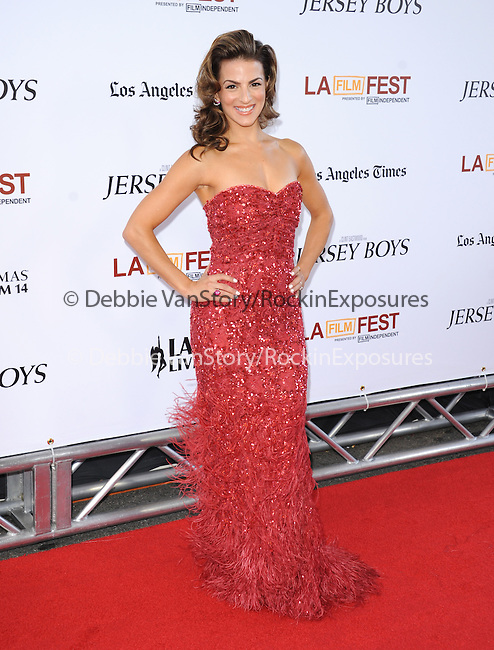 """Renee Marino attends The Los Angeles Film Festival 2014 Closing Night Premiere of Warner bros. Pictures """"Jersey Boys"""" held at The Regal Cinemas L.A. Live in Los Angeles, California on June 19,2014                                                                               © 2014 Hollywood Press Agency"""