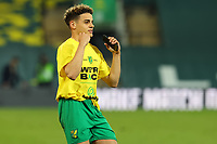 17th April 2021; Carrow Road, Norwich, Norfolk, England, English Football League Championship Football, Norwich versus Bournemouth; Max Aaron of Norwich City celebrates winning promotion to the Premier League