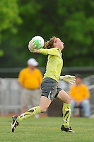 Sky Blue FC goalkeeper Karen Bardsley (1). FC Gold Pride defeated Sky Blue FC 1-0 during a Women's Professional Soccer (WPS) match at Yurcak Field in Piscataway, NJ, on May 1, 2010.