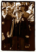 FILE Photo, Montreal, Canada<br /> <br /> Canadian army veterans attend the commemoration of the 1918 armistice day, Nov 11, in Montreal, canada
