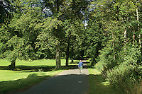 Walking through Dalmeny Estate, Lothian