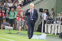 Nationaltrainer Hans Backe (Finnland) - Deutschland vs. Finnland, Borussia Park, Mönchengladbach