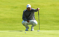 140719 | The 148th Open - Sunday Practice<br /> <br /> Jason Day on the 12th green  during practice for the 148th Open Championship at Royal Portrush Golf Club, County Antrim, Northern Ireland. Photo by John Dickson - DICKSONDIGITAL