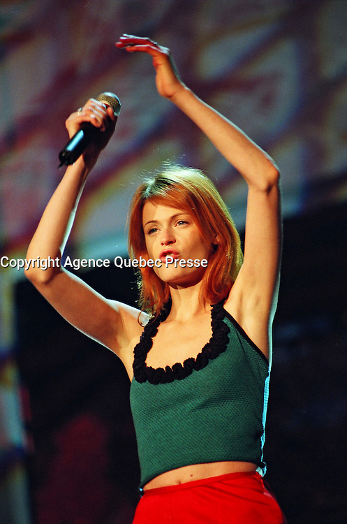 FILE PHOTO Montreal (Qc) CANADA<br /> Axelle Red in concert