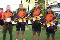 KAATSEN: WOMMELS: 19-09-2020, De Freulepartij, winnaars Rick Minnesma, Jorn Lars van Beem en Rutger Kumbangsila, ©foto Martin de Jong