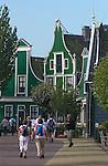 typical landscape of the Zaanstreek, Zaanse Schans