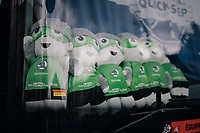 Team Quickstep Floors is the green team...<br /> <br /> 104th Tour de France 2017<br /> Stage 11 - Eymet › Pau (202km)