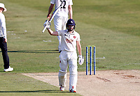 Ollie Robinson celebrates his fifty for Kent during Kent CCC vs Worcestershire CCC, LV Insurance County Championship Division 3 Cricket at The Spitfire Ground on 5th September 2021