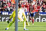 Atletico de Madrid Rodrigo Hernandez and Deportivo Alaves Fernando Pacheco during La Liga match between Atletico de Madrid and Deportivo Alaves at Wanda Metropolitano in Madrid, Spain. December 08, 2018. (ALTERPHOTOS/Borja B.Hojas)