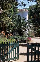 """Europe/Provence-Alpes-Côte d'Azur/83/Var/Iles d'Hyères/Ile de Port-Cros: Hôtel """"Le Manoir"""" - La demeure de maitre dans son parc"""