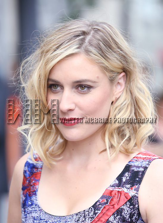 Greta Gerwig attending the 'While We're Young' red carpet arrivals during the 2014 Toronto International Film Festival at the Princess of Wales Theatre on September 6, 2014 in Toronto, Canada.