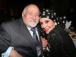 Mario Fratti and Liliane Montevecchi attending 'Love n' Courage' - Theater for the New City Benefit at The National Arts Club on February 24, 2014 in New York City.