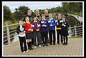 19/09/2008  Copyright Pic: James Stewart.File Name : 01_mod_march.MOD 2008 :: FORT WILLIAM TO FALKIRK WALK.Rear Left to Right : COUNCILLOR ANGUS MACDONALD, PROVOST PAT REID, FUNDRAISING ORGANISER ALAN RANKIN..Front Left to Right : CLHOE BLACKHALL (EASTER CARMUIRS). SOPHIE FARRELL (ST FRANCIS), CRAIG HULME (COMLEY PARK), ANDREW GREENWAY (LANGLEES), REAGAN MILNE (BANTASKIN), REBECCA THOMSON (CARMUIRS), AMBER MCCALLUM (EASTER CARMUIRS)..James Stewart Photo Agency 19 Carronlea Drive, Falkirk. FK2 8DN      Vat Reg No. 607 6932 25.James Stewart Photo Agency 19 Carronlea Drive, Falkirk. FK2 8DN      Vat Reg No. 607 6932 25.Studio      : +44 (0)1324 611191 .Mobile      : +44 (0)7721 416997.E-mail  :  jim@jspa.co.uk.If you require further information then contact Jim Stewart on any of the numbers above........