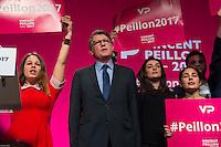 Vincent Peillon ‡ son meeting de Paris le 20 janvier 2017 ‡ l'espace Reuilly du 12Ë arrondissement dans le cadre des primaires de la gauche # # MEETING DE VINCENT PEILLON A PARIS