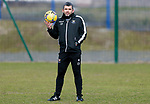 St Johnstone Training... 05.03.21<br />Manager Callum Davidson pictured during training at McDiarmid Park this morning...<br />Picture by Graeme Hart.<br />Copyright Perthshire Picture Agency<br />Tel: 01738 623350  Mobile: 07990 594431
