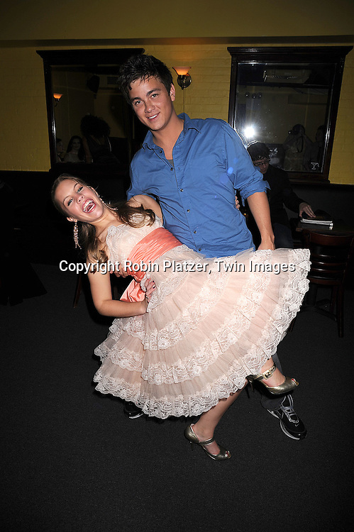 """Brandon Buddy and Kristen Alderson of One Life to Live..at The """"Kathy Brier and Friends"""" concert at The Metropolitan Room in New York City benefitting the Eos ..Theatre Company on May 16, 2008.....Robin Platzer, Twin Images"""
